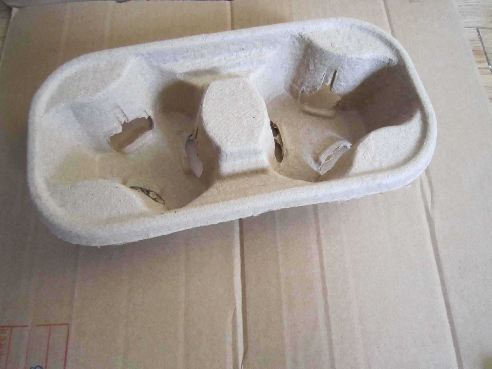 take away paper cup tray