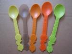 colored Yogurt spoon